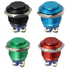 Momentary Push Button Switch 16mm Waterproof Mount Button Switch3