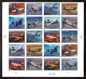 USA-2005-PANE-OF-20-SELF-ADHESIVE-STAMPS-MINT-3916-25-ADVANCES-IN-AVIATION
