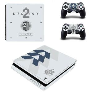 Destiny-2-Theme-Skin-Vinyl-Sticker-For-Palystation-4-PS4-Slim-Console-Controller