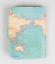 Sass /& Belle Vintage carte du monde Atlas Le Temps d/'aller au Royaume-Uni Porte-passeport Housse Cadeau