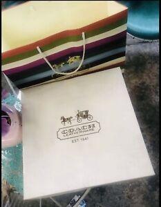 Authentic-Coach-paper-Bag-amp-Box