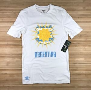 Image is loading New-Authentic-Mens-Umbro-Argentina-Soccer-Shirt-World- 4dcfbb996