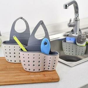 Kitchen-Storage-Rack-Holder-Sink-Drainer-Bathroom-Shelf-Soap-Sponge-Drainer-Rack