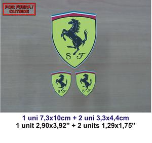 Sticker Pegatina Decal Autocollant Aufkleber Adesivi Vinilo Vinyl Ferrari 7rmvsjrc-07224758-910898643