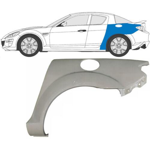 Mazda RX8 RX-8 2003-2012 Panel de Reparación de Arco de Rueda Trasera Ala Trasera//Izquierda LH