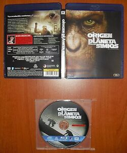 El origen del Planeta de Los Simios (Rise of the Planet of The Apes) Blu-Ray ABC