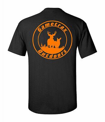 Gametrax Outdoors Hunting Logo t shirt,Deer,buck,archery,compound bow,bolt,arrow