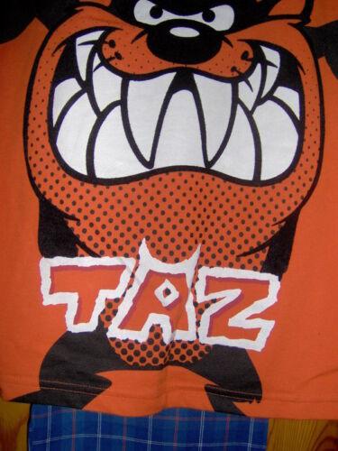 Garçons TAZ pyjama bleu//orange-Age 7//8 ans