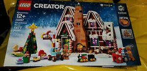LEGO-10267-Creator-Gingerbread-House-1477-pcs-NIB-In-Hand-Ready-to-Ship-Gift
