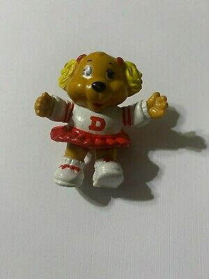 Vintage 1984 80/'s Tomy Get Along Gang Dotty Dog poseable figure