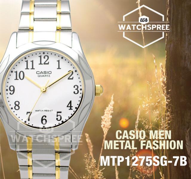 Casio Classic Series Men's Analog Watch MTP1275SG-7B