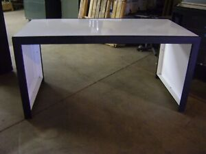 Details About Black White Metal Retail Nesting Display Tables Set 3