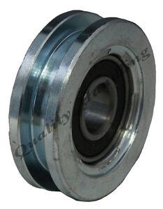 Sliding Gate Wheel Pulley Wheel 60mm Square Groove Steel