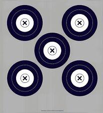 NFAA Style Five(grey)/Single Spot DS Archery Paper Targets - 17.5x19.5 - 43 Qty