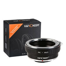 Pentax PK K Lens to Micro 4/3 M43 Mount Adapter Ring Olympus Panasonic PK-M4/3