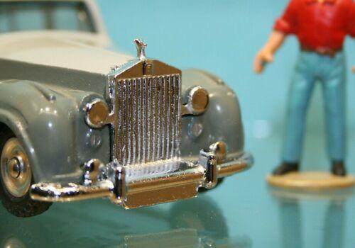 ** DTF307 Calandre//pare choc Av pour Rolls Royce Silver Wraith Dinky Toys 551