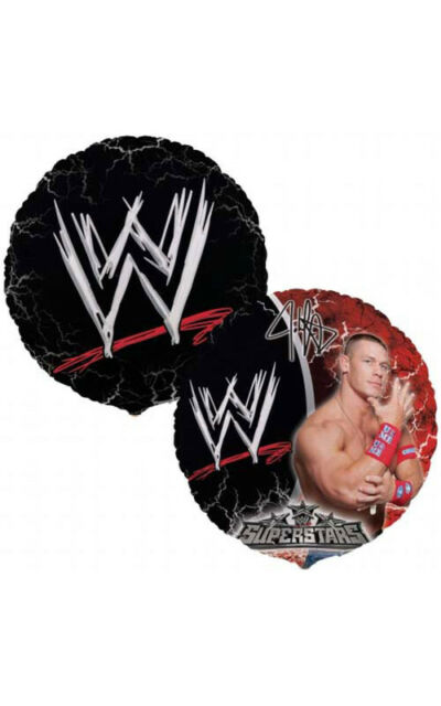 LICENSED WWE JOHN CENA WRESTLING BIRTHDAY PARTY FOIL BALLOON DECORATIONS