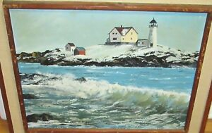 PHYLLIS-LANDRY-PACHECO-LIGHTHOUSE-ROCK-ORIGINAL-OIL-ON-CANVAS-SEASCAPE-PAINTING