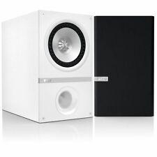KEF Q100 Stereo Home Cinema Speakers Loudspeakers Uni-Q White hifi