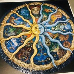 Jigsaw-Puzzle-douze-Constellations-Forme-Puzzle-Piece-Puzzle-pour-Entertainment