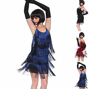 Vintage-1920s-gatsby-Look-Flapper-Swing-Fringe-Cocktail-Party-Evening-Dress