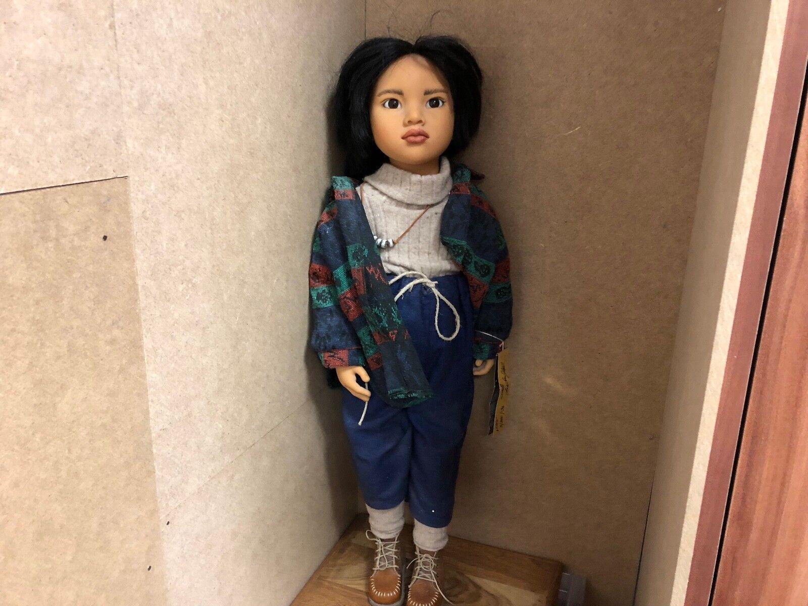 Zwergnase nicole marschollek muñeca 66 cm. top estado