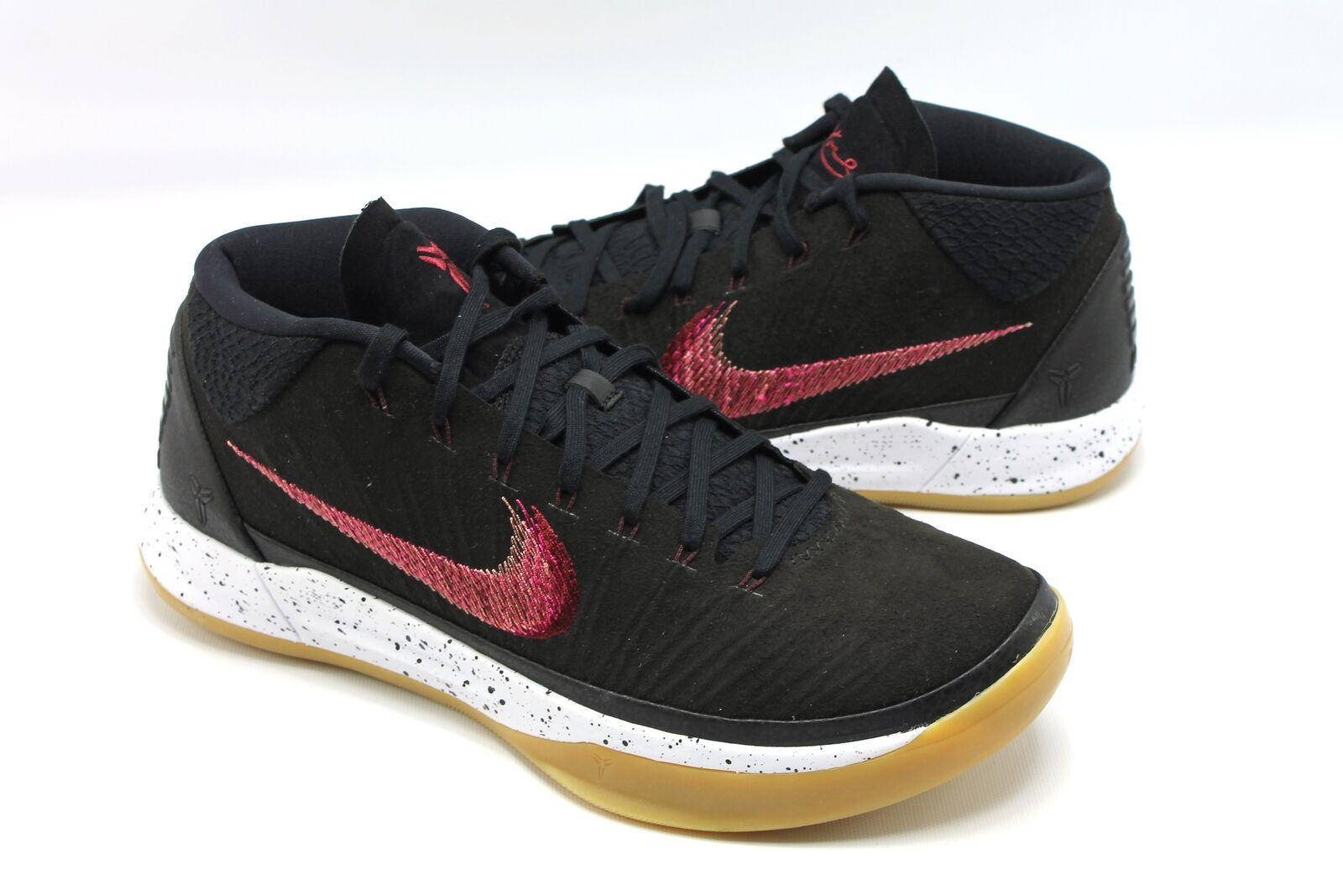 Nuevo goma anuncio de Nike Kobe zapatos Negro Sail goma Nuevo cosida Swoosh hombre 11 90d6e5