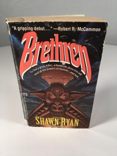 Shawn Ryan BRETHREN Vintage Paperback Horror 1993 Pocket 1st Printing Debut