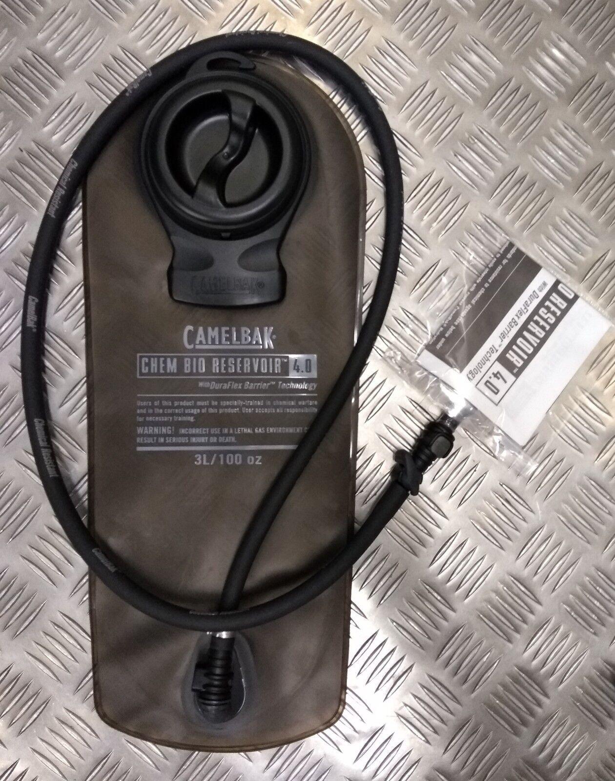 Originale Militare Problema Camelbak Idratazione Sacca  Serbatoio 3 Litri Nero