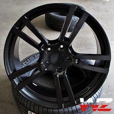 "20"" Split 5 Satin Black Wheels Rims Fits VW Touareg Audi Q7 Porsche Cayenne"