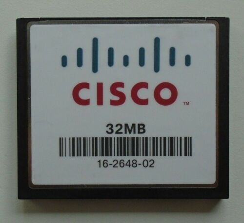 10X Cisco 32MB Compact Flash CF Memory Card 16-2648-02 Joblot Bulk