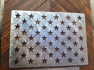 American Flag Stencil Wooden Flag Star Stencil Steel 14x19 6 Inch