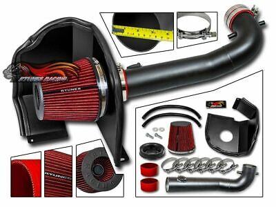 RTunes V2 Heat Shield Air Intake Kit Filter For 2014-2019 Silverado Sierra V8