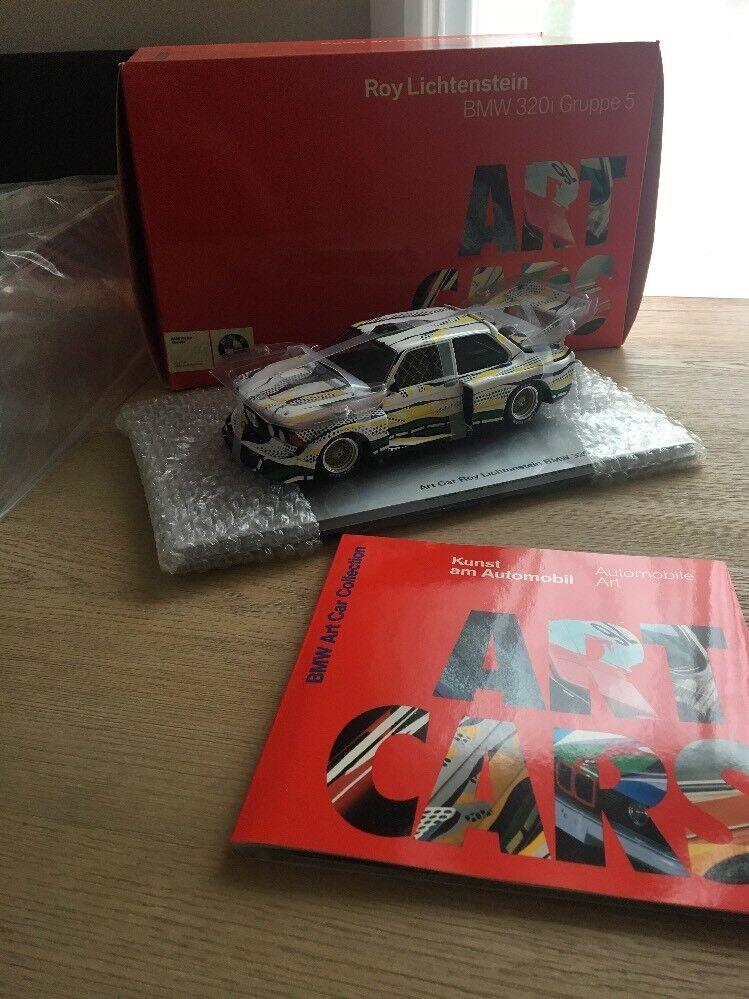 Roy Lichtenstein BMW 320i Gruppe 5 Art Voiture, Museum Edition 1 18 Brand New Boxed