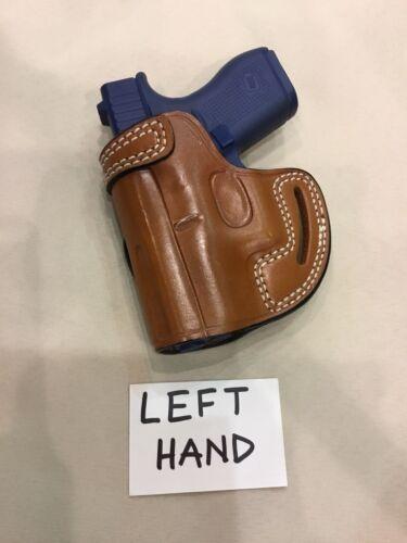 Kimber SOLO  - LEFT HAND Holster for GLOCK 42 # 7642L BRN SIG P365