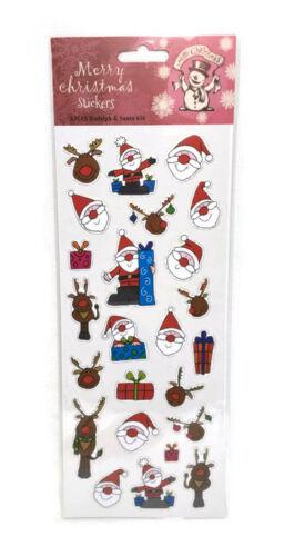 Pegatinas Divertidas Navidad Pegatinas Autoadhesivas a Regalo Decoración Letras o recoger