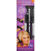 Instyler Ionic Styler Pro Ceramic Hot Bristles Brush/ Flat Iron With Cool Touch