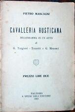 19.. libretto teatro LA FANCIULLA DEL WEST-G.Civinini/Zangarini-Giacomo Puccini