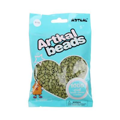 Spielzeug Fuse Beads Um Jeden Preis Artkal 1000 Midi Bügelperlen 5mm Earth Green S116