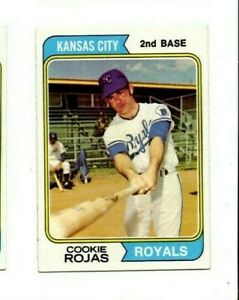 Details About 1974 Tcgprto In Usa Baseball Card 278 Cookie Rojas