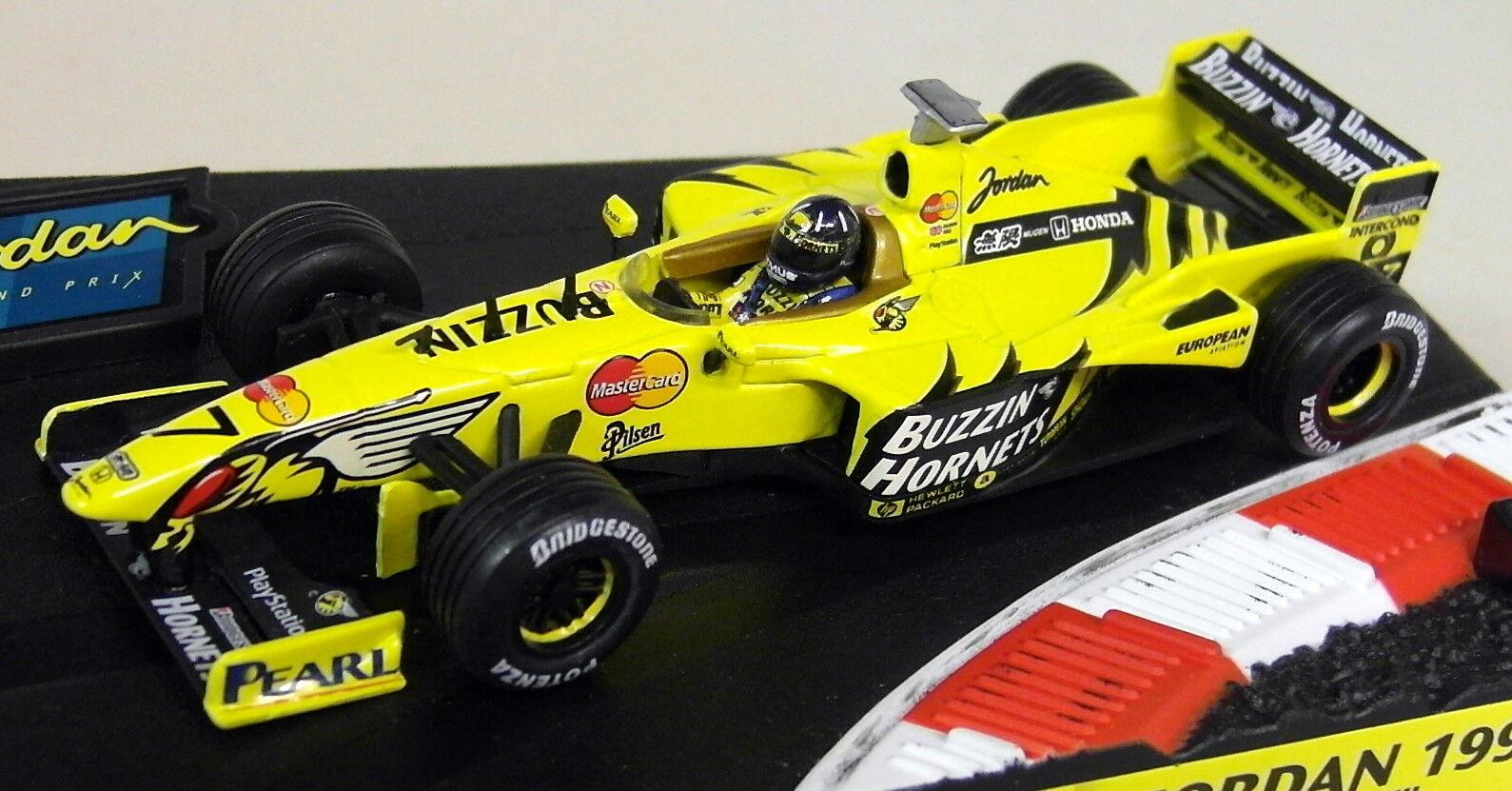 Hot Wheels 1 43 Scale - 22811 Jordan 199 Damon Hill F1 Diecast Model Car
