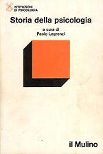Storia della psicologia- P.LEGRENZI, 1987 Mulino editore - ST474