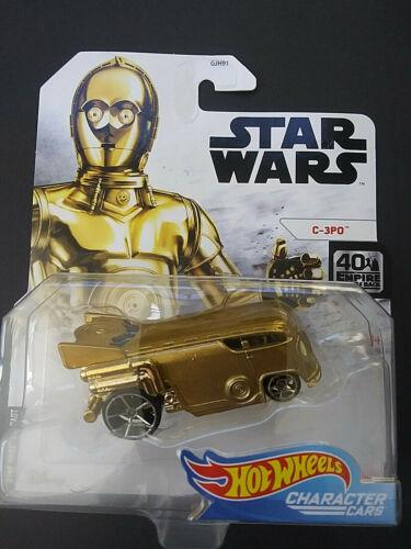 Hot Wheels STAR WARS STARSHIPS Flight Stands Character Cars Diecast Disney Lot