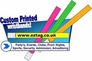 PRINTED-PARTY-Tyvek-Wristbands-Ideal-for-Parties-Festivals-amp-Events