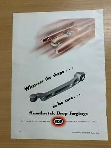 1954-Smethwick-Drop-Forgings-Limitee-Original-Vintage-Annonce