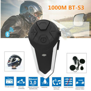 Intercomunicador-Casco-Moto-ENCHICAS-BT-S3-Bluetooth-Auriculares-Manos-NR