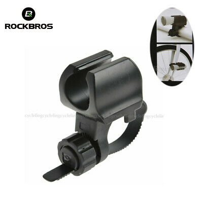RockBros Bike Bicycle Bracket Clip Light /& Pump Stand Rotatable Double Holder