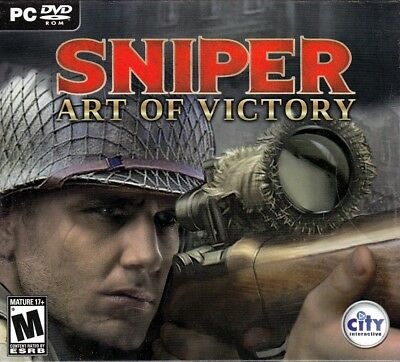Sniper Art of Victory (PC DVD Game) WWII Shooter FREE US SHIPPING  5906961198846 | eBay
