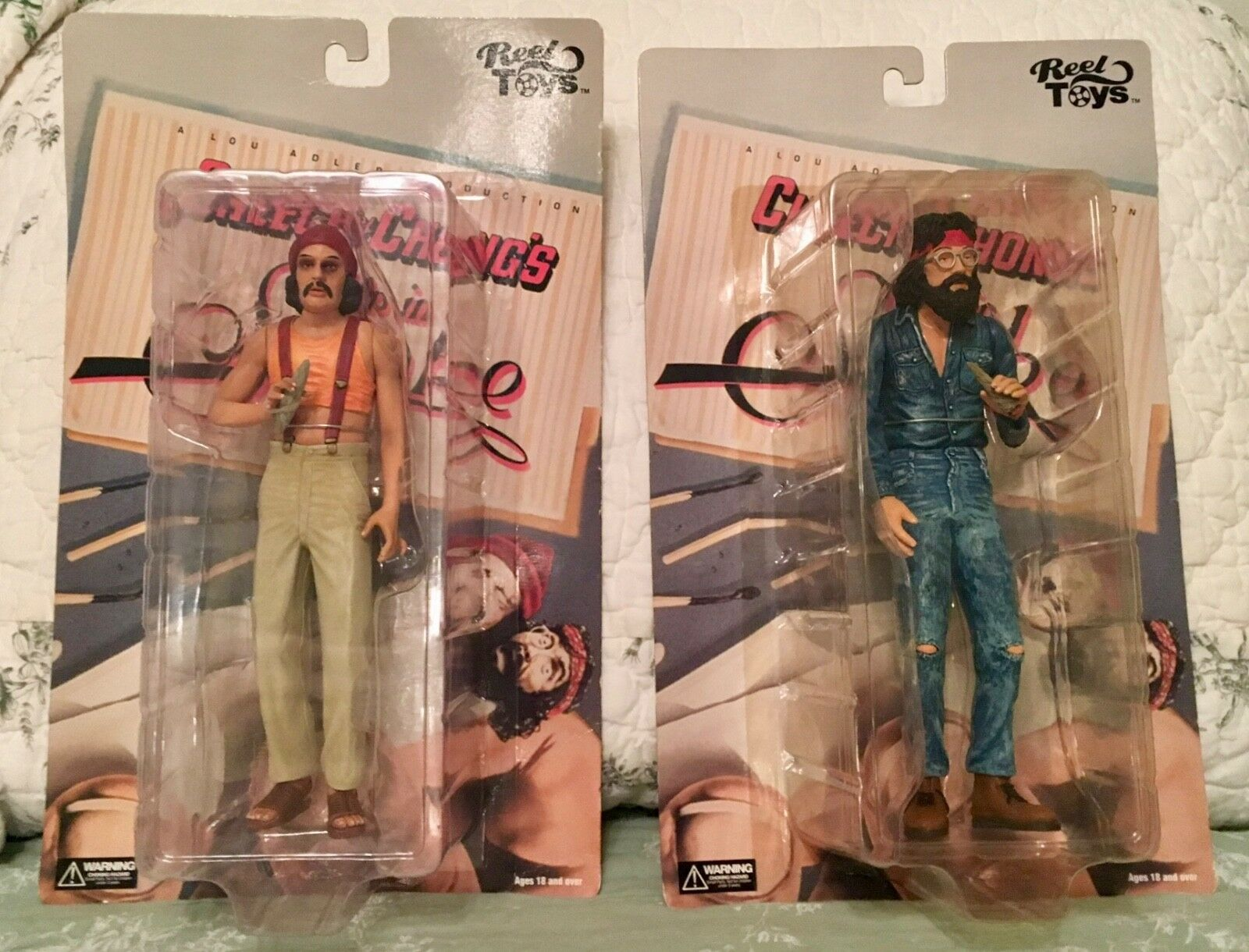 Up In Smoke, Pedro and Man Dolls, Figures, Unopened Condition