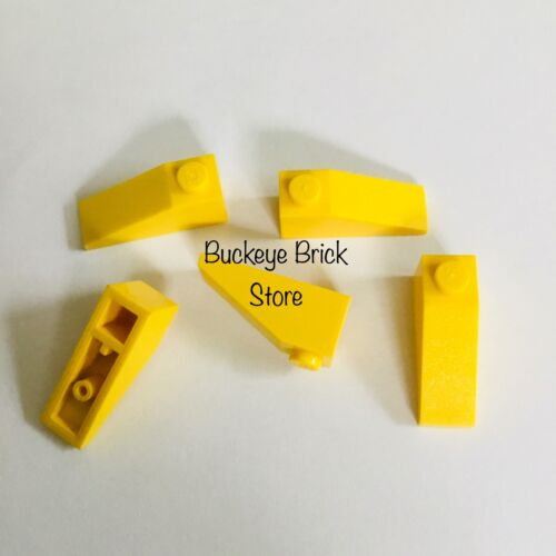 Lot of 5 Mixed New /& Used LEGO Yellow Slope 33 3x1
